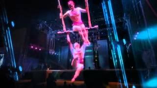 Выступление Цирка дю Сюлей в Парке Универсиады