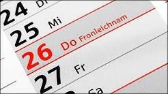 In welchen Bundesländern ist Fronleichnam ein gesetzlicher Feiertag?