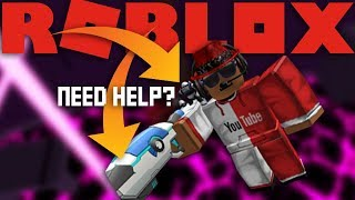 How to get MG34 Bot and Lance's Energy Blaster in Roblox Universe Event 2017 (Flood Escape)