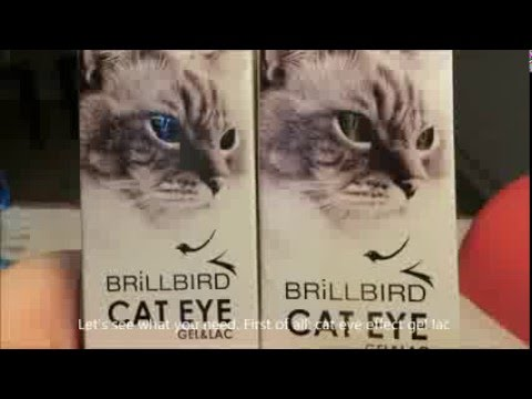 How to do cat eye effect gel or gel lac turotial
