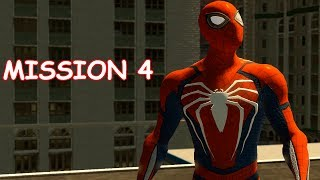 Playing as PS4 Spider-man - Mission 4 Kraven - The Amazing Spider-man 2 (PC)