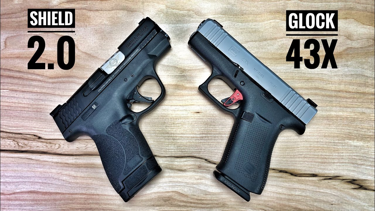 Smith & Wesson Shield 2 0 vs Glock 43X - If I Could Only Have One