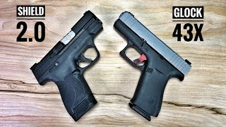 Smith & Wesson Shield 2.0 vs Glock 43X - If I  Could Only Have One...