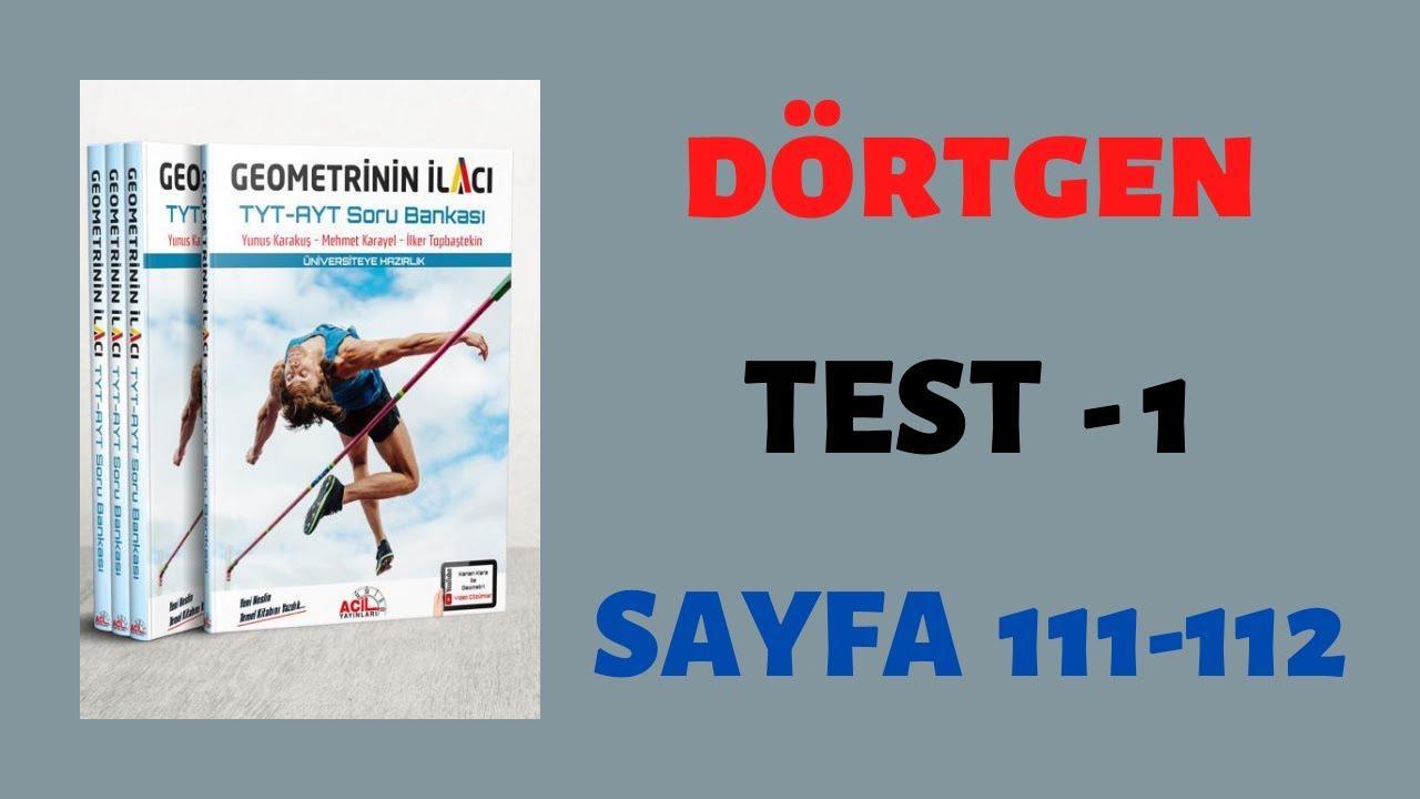 Dörtgen-Test 1 (GEOMETRİNİN İLACI)