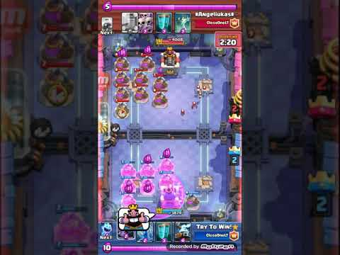 Clash Royale| Zappies card World record!