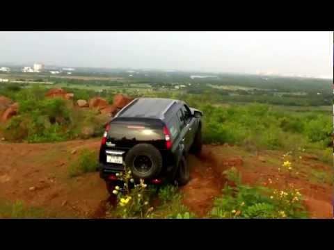 Ford Endeavour 4x4 Offroad on a Mountain