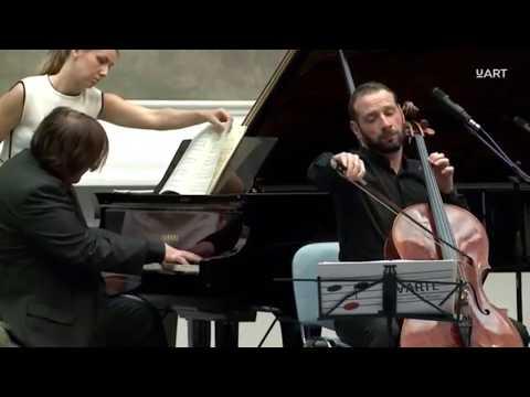 Э.Григ Соната для виолончели и фортепиано ля минор, соч. 36, Борис Андрианов,  Кристиан Иле Хадланд.