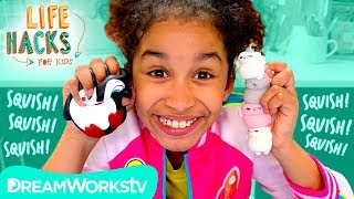 Upcycle Your Squishy Hacks | LIFE HACKS FOR KIDS