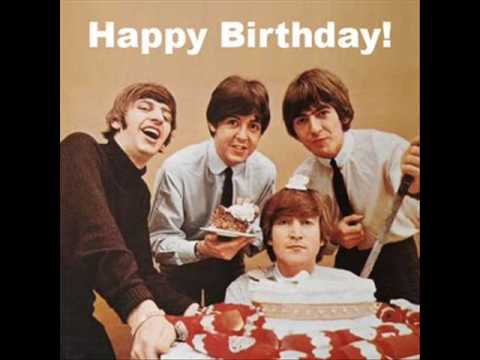 The Beatles  Happy Birthday to You
