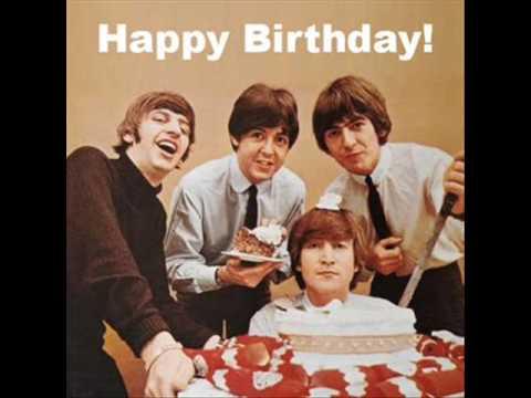 Image Beatles Birthday Cake