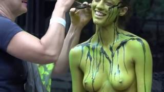 Nude Body Painting - Male & Female
