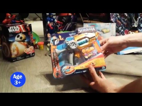 Slugterra Entry Blaster and Slug Ammo - Eli's Blaster - unboxing and toy review