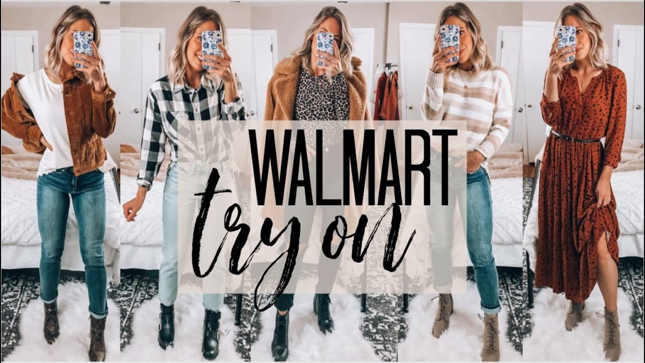 HUGE WALMART TRY ON HAUL | Fall/Winter 2020