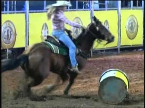 Barrel Racing in Brazilian Rodeos