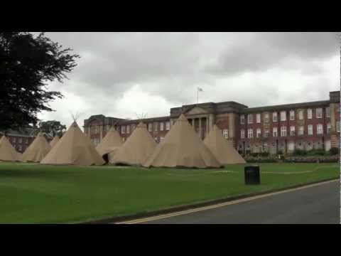 Tipis on the Acre, Leeds Metropolitan University, Headingley Campus - 18th July 2012 (HD)