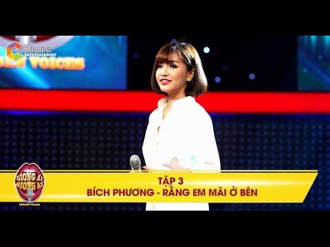 """Giọng ải giọng ai   tập 3: Bích Phương đốn tim Trường Giang với """"hit ruột"""""""