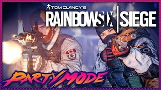 Kinda Funny Hunts Terrorists in Rainbow Six Siege - Party Mode