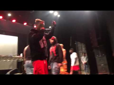Rapper Xxxtentacion Attacked on Stage During San Diego Show (censored)