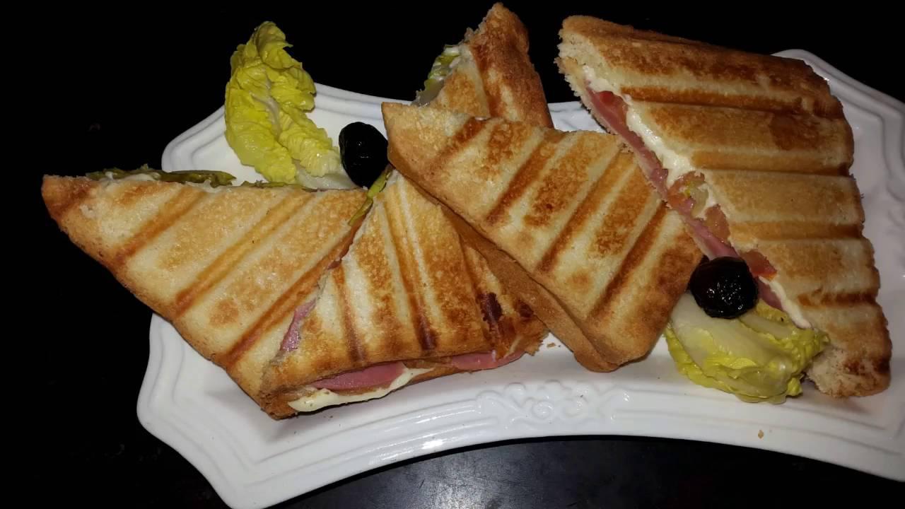 Croque Monsieur A La Poele sandwich | croque monsieur facile et rapide سندويتش | كروك موسيو لذيذ و سريع