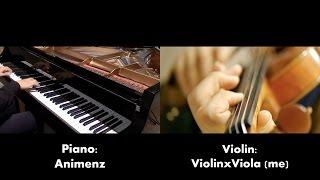 """This Game"" - No Game No Life OP - ノーゲーム・ノーライフ (Violin Cover ft. Animenz Piano Sheets) thumbnail"