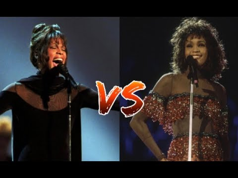Whitney Houston - Award VS Concert Performances!