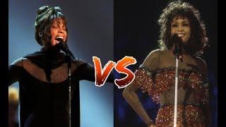 Whitney Houston - Award VS Concert Performances!