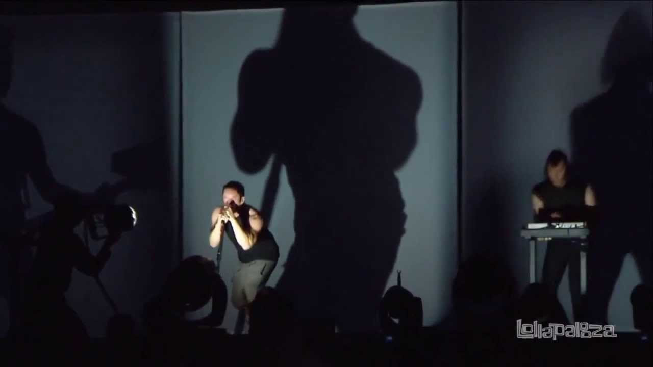Nine Inch Nails - Sanctified (Live 2013 EP) HD - YouTube