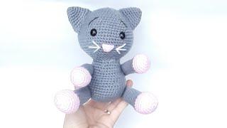 Amigurumi Kedi Yapımı ( Baştan Sona Anlatım )