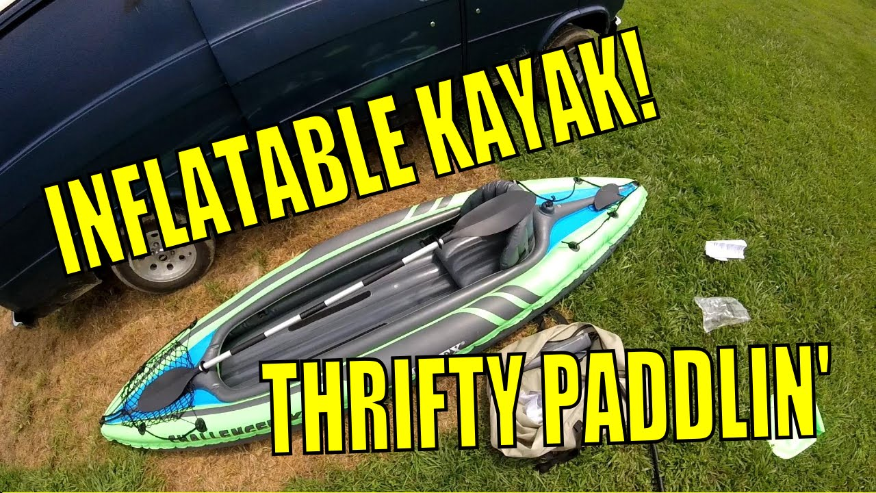 Review Intex Challenger K2 Inflatable Kayak Part 1