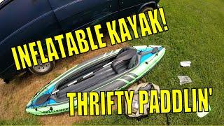 review intex challenger k2 inflatable kayak part 1