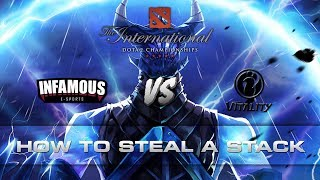 Dota 2 TI7 - How to steal a stack