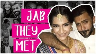 Sonam Kapoor And Anand Ahuja LOVE STORY | Sonam - Anand Wedding 2018