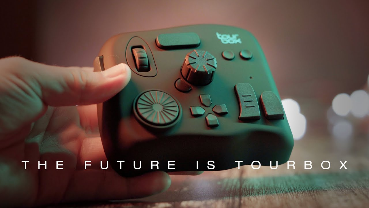 TourBox - The FUTURE of photo/video editing