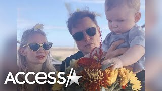 Grimes' Son w/ Elon Musk Uses Her First Name & Not Mom