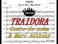 Traidora Gente de zona Charanga - Partitura Arreglos musicales Serna