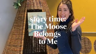 This Moose Belongs To Me by Oliver Jeffers | Story time | Read along at home with Maggie & Rose