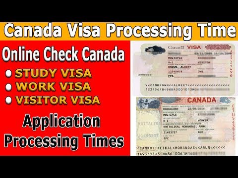 Canada Visa Processing Time L Online Check Canada Application Processing Times L Canada Immigration