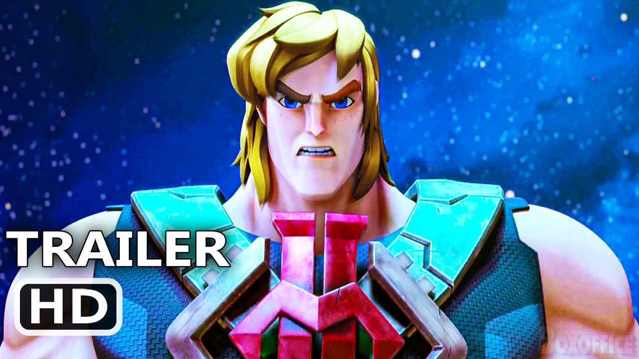 HE-MAN AND THE MASTERS OF THE UNIVERSE Trailer (2021)
