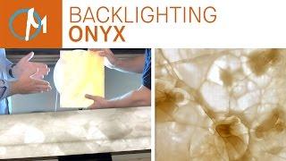 Diy Backlighting Onyx Countertops | Marble