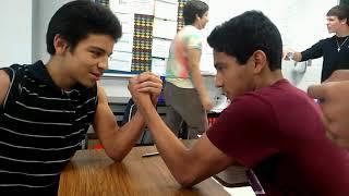 Arm Wrestling! - pt.1 (Freshman High School)