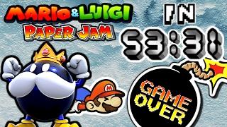 Mario & Luigi: Paper Jam - Any% Speedrun (53:31)