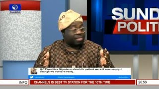 Politics Today Dele Momodu Speaks On The  Politics Of 2016 Budget Passage Pt 2