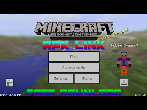 minecraft pe 1.1 0.9 free download ios