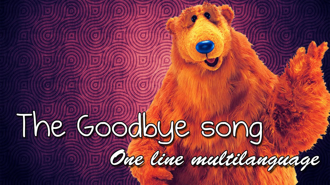 the goodbye song one line multilanguage 17 languages youtube