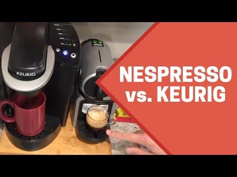 Nespresso Versus Keurig