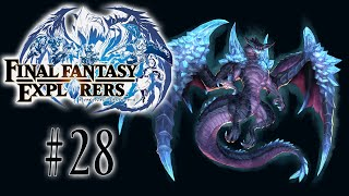 [28] Mastering Blue Mage and Dragoon! (Final Fantasy Explorers Multiplayer)
