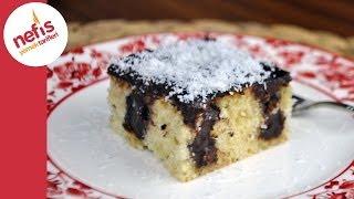 Poke Kek Tarifi   Pudingli Kolay Kek   Nefis Yemek Tarifleri