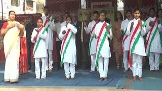 Specially-abled students sing National Anthem in sign language