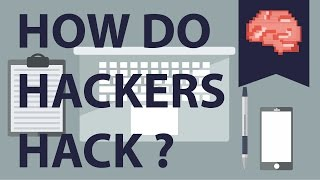How do hackers hack?