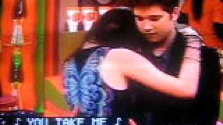 Romantic dance between freddie and carly